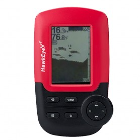 HawkEye FishTrax 1X Kayak Dot Matrix Portable Fish Finder