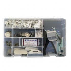 Weld Mount Executive Adhesive - Fastener Kit w-AT-8040 Adhesive