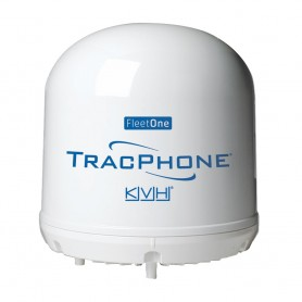 KVH TracPhone Fleet One Compact Dome w-10M Cable