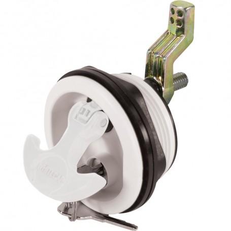 Whitecap Locking Nylon T-Handle - White-White
