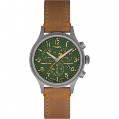 Timex Expedition Scout Chrono Watch - Tan-Green