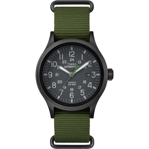 Timex Expedition Scout Slip-Thru Watch - Green