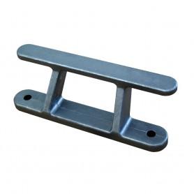 Dock Edge Dock Builders Cleat - Angled Aluminum Rail Cleat - 8-