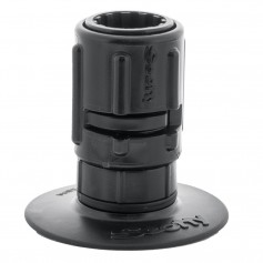Scotty 448 Stick-On Mount w-Gear-Head Adapter - 3- Pad