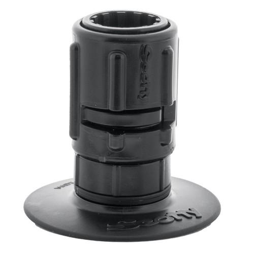 Scotty 448 Stick-On Mount w-Gear-Head Adapter - 3- Pad