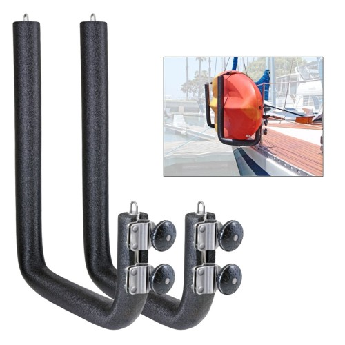 Magma Removable Rail Mounted Kayak-SUP Rack - Wide - 20-