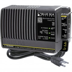 Blue Sea 7605 BatteryLink Charger - 10Amp - 2-Bank