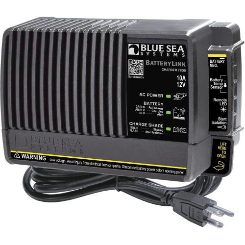 Blue Sea 7605 BatteryLink Charger - 10Amp - 2-Bank