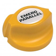 BEP Emergency Parallel Battery Knob - Yellow - Easy Fit