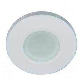 Lumitec Orbit Flush Mount Down Light Spectrum RGBW - White Housing