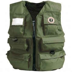 Mustang Manual Inflatable Fisherman Vest