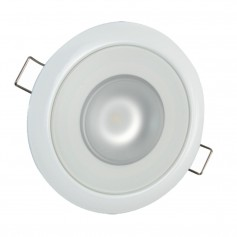 Lumitec Mirage Flush Mount Down Light Spectrum RGBW - White Housing