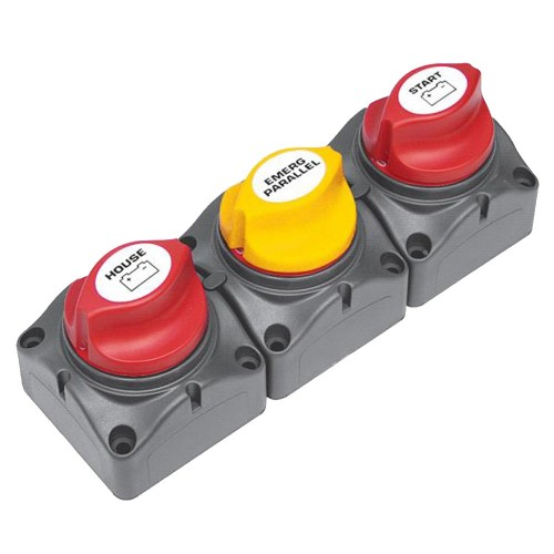 BEP Battery Distribution Cluster f-Single Engine w-Two Dedicated Battery Banks - Horizontal Mounting