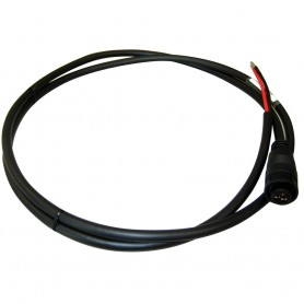 Raymarine 3-Pin- 12-24V Power Cable - 1-5M f-DSM30-300- CP300- 370- 450-470 - 570
