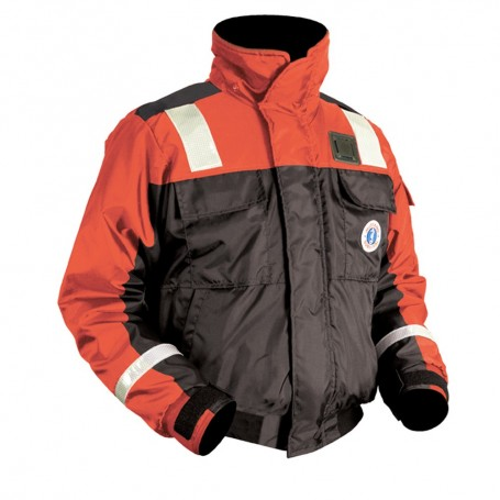 Mustang Classic Bomber Jacket w-Solas Reflective Tape - XXXL