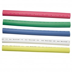 Ancor Adhesive Lined Heat Shrink Tubing - 5-Pack- 6-- 12 to 8 AWG- Assorted Colors