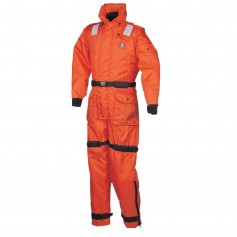 Mustang Deluxe Anti-Exposure Coverall - Worksuit - LG - Orange