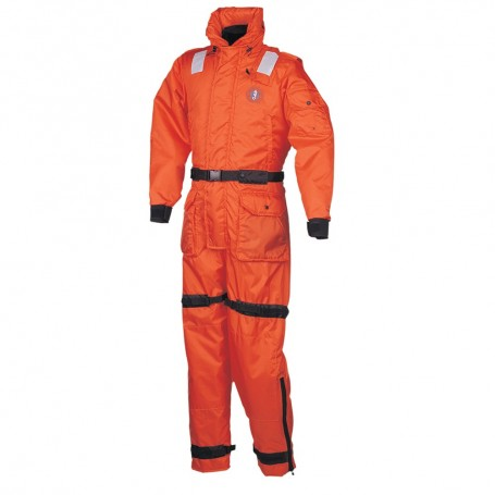 Mustang Deluxe Anti-Exposure Coverall - Worksuit - XL - Orange