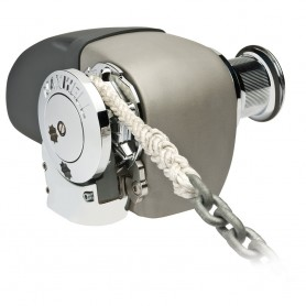 Maxwell HRC 10-8 Rope Chain Horizontal Windlass 5-16- Chain- 5-8- Rope 12V- with Capstan