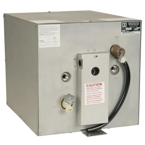 Whale Seaward 11 Gallon Hot Water Heater w-Rear Heat Exchanger - Galvanized Steel - 120V - 1500W