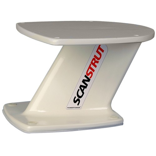 Scanstrut 6- PowerTower Composite f-Radomes - Small Satcom-TV Antenna
