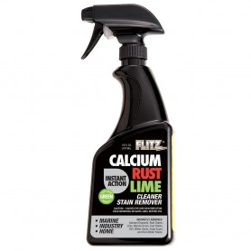 Flitz Instant Calcium- Rust - Lime Remover - 16oz Spray Bottle