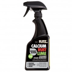 Flitz Instant Calcium- Rust - Lime Remover - 16oz Spray Bottle