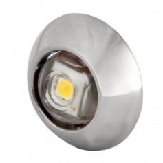 Lumitec Exuma Courtesy Light - Polished Stainless Housing - White Light