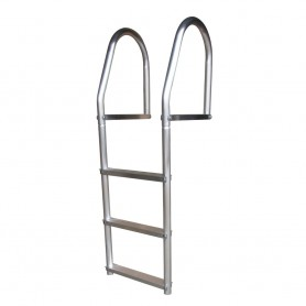 Dock Edge Fixed Eco - Weld Free Aluminum 3-Step Dock Ladder