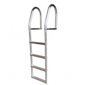 Dock Edge Fixed Eco - Weld Free Aluminum 4-Step Dock Ladder