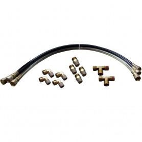 SI-TEX Autopilot Hydraulic Steering Installation Kit w-Hoses - Fittings
