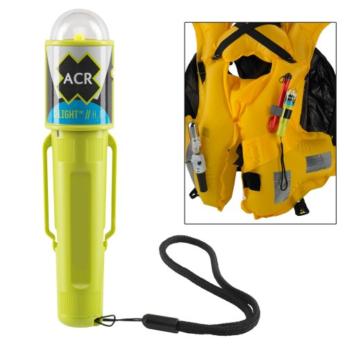 ACR C-Light H20 - Water Activated LED PFD Vest Light w-Clip