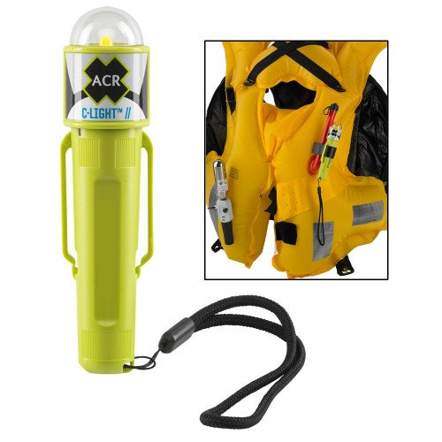 ACR C-Light - Manual Activated LED PFD Vest Light w-Clip