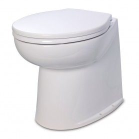 Jabsco 17- Deluxe Flush Raw Water Electric Toilet - 12V