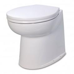 Jabsco 17- Deluxe Flush Raw Water Electric Toilet - 24V