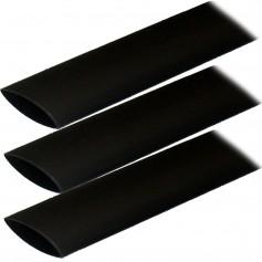 Ancor Adhesive Lined Heat Shrink Tubing -ALT- - 1- x 3- - 3-Pack - Black