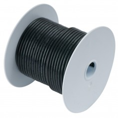 Ancor Black 18 AWG Tinned Copper Wire - 100-