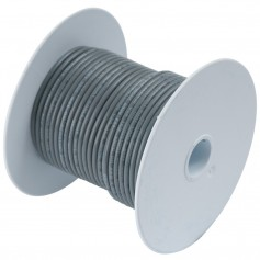 Ancor Grey 18 AWG Tinned Copper Wire - 250-
