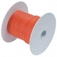 Ancor Orange 18 AWG Tinned Copper Wire - 100-