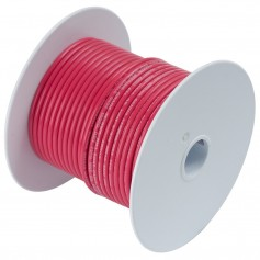 Ancor Red 18 AWG Tinned Copper Wire - 100-