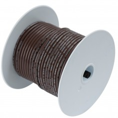 Ancor Brown 16 AWG Tinned Copper Wire - 250-