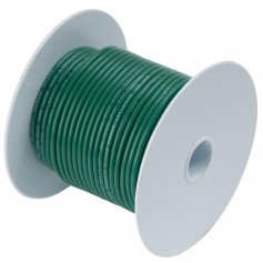 Ancor Green 16 AWG Tinned Copper Wire - 100-