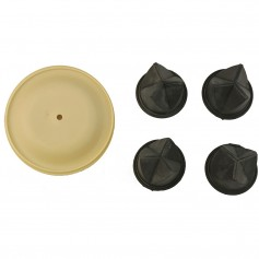 Whale Gulper Service Kit - Diaphragm - Valves