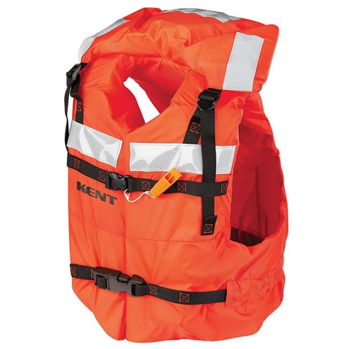 Kent Type 1 Commercial Adult Life Jacket - Vest Style - Universal