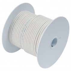 Ancor White 16 AWG Tinned Copper Wire - 100-