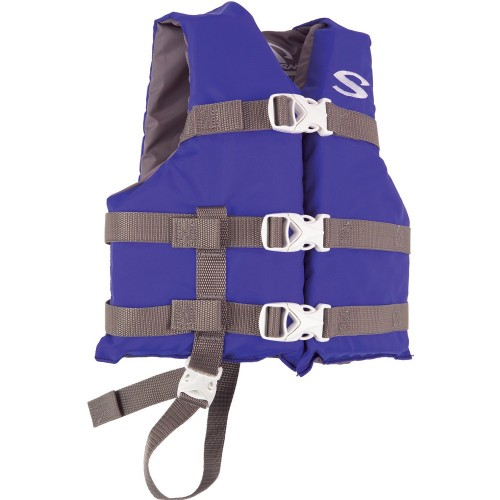 Stearns Classic Child Life Jacket - 30-50lbs - Blue-Grey