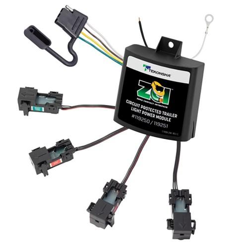 Tekonsha ZCI Zero Contact Interface Universal ModuLite - Universal Trailer Light Power Module
