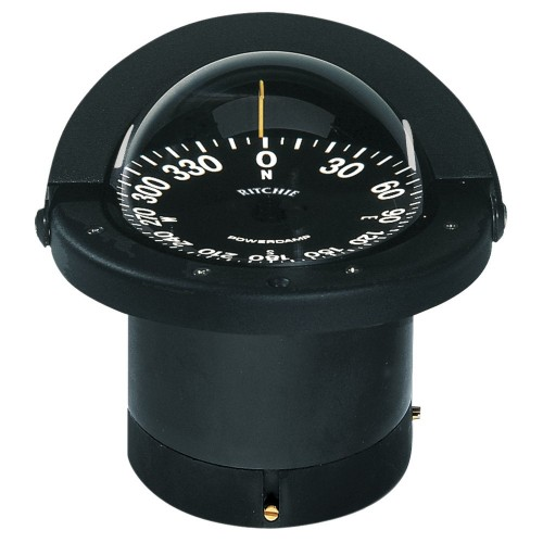 Ritchie FN-201 Navigator Compass - Flush Mount - Black