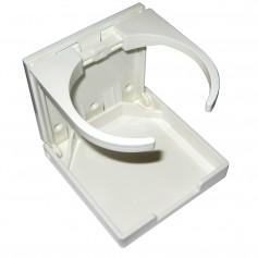 Whitecap Folding Drink Holder - White Nylon