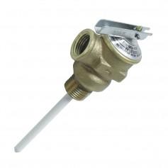 Camco Temperature - Pressure Relief Valve - 1-2- Valve w-4- Probe